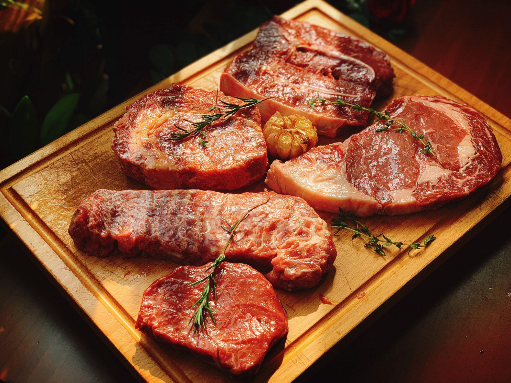 TOPPING BEEF STEAK